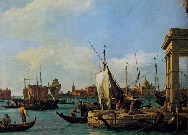 Il Canaletto: La punta della dogana