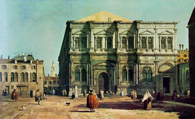 Il Canaletto: La scuola di San Rocco