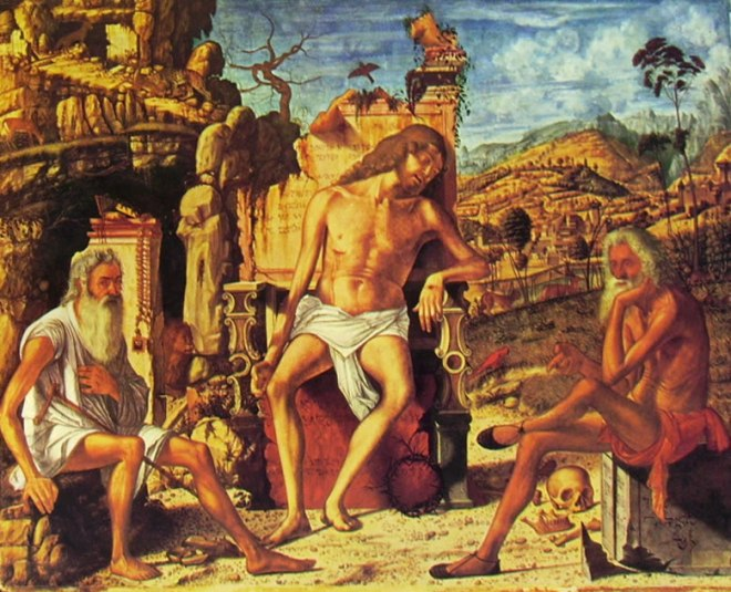Carpaccio: Meditazione sulla passione di Cristo