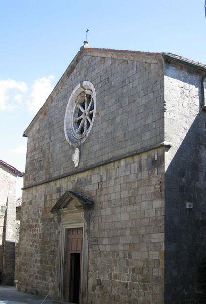 Pieve di S. Fiora: sante Flora e Lucilla