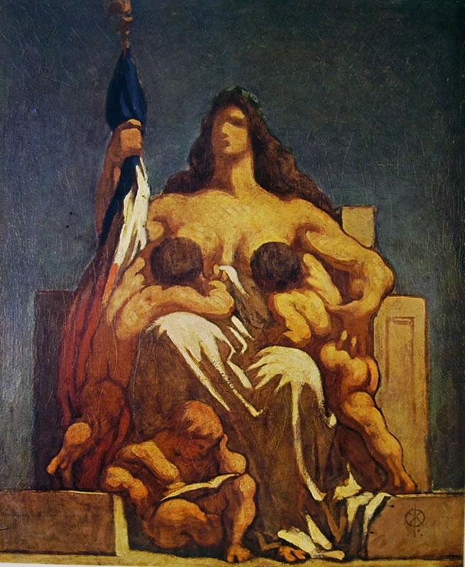 Honoré Daumier: Allegoria della Repubblica