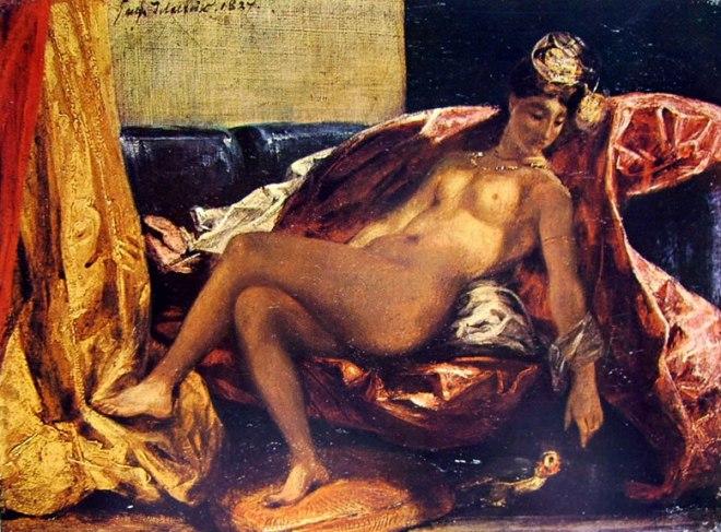 Eugène Delacroix: Donna dal pappagallo