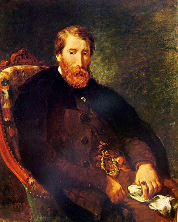 Eugène Delacroix: Alfred Bruyas