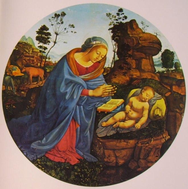 Piero di Cosimo: Madonna adorante il Bambino