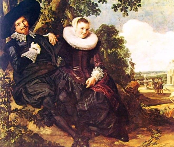 Frans Hals: Coppia all'aperto
