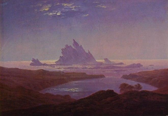 Caspar David Friedrich: Scogliere davanti alla spiaggia