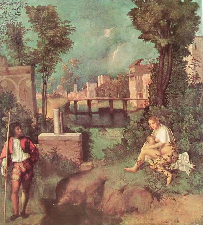 La tempesta, cm. 73, Gallerie dell'Accademia, Venezia