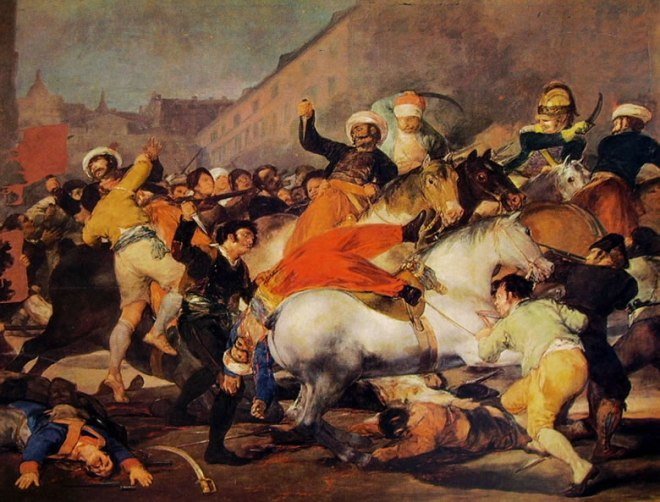 Goya - Il 2 Maggio 1808: Lotta contro i mammelucchi
