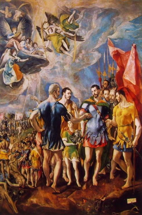 El Greco: Il martirio di San Maurizio