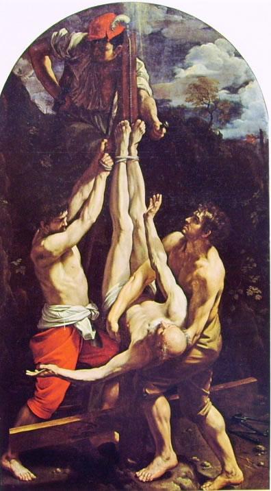La crocifissione di San Pietro