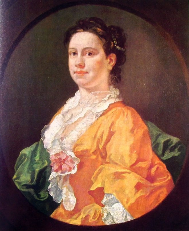 William Hogarth: Ritratto della signora Salter