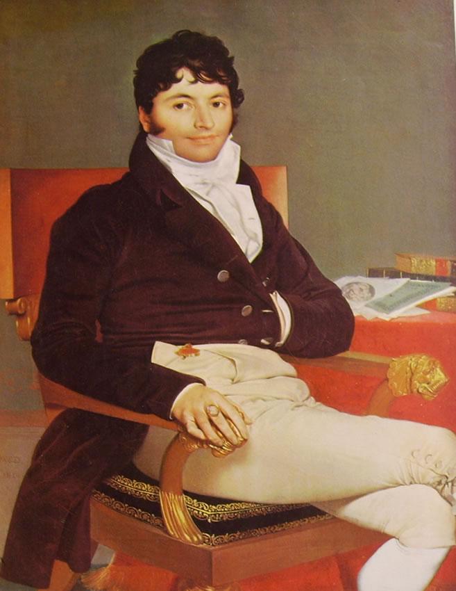 Jean-Auguste-Dominique Ingres: Monsieur Riviere