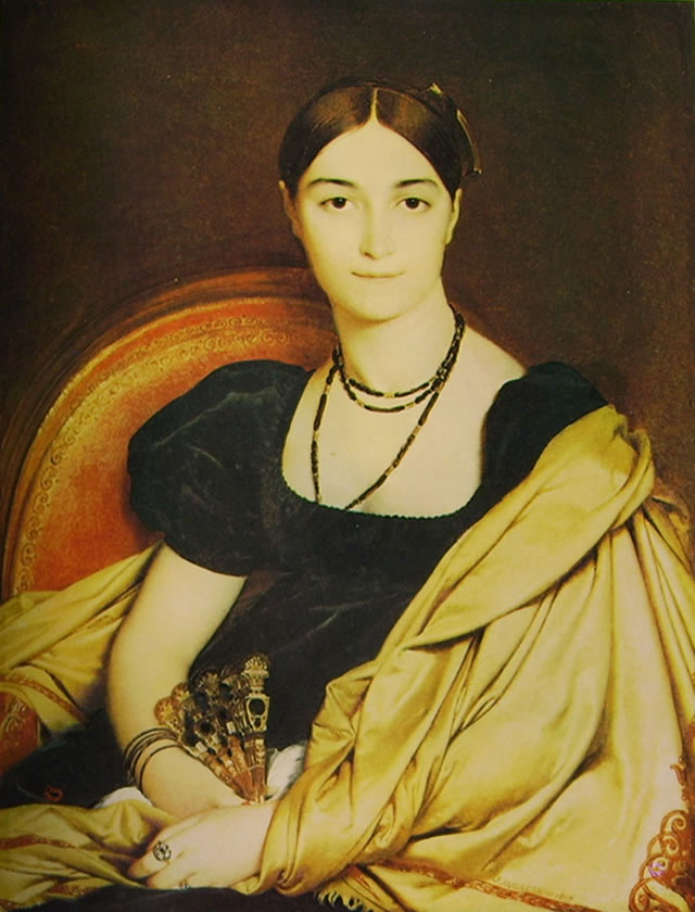 Jean-Auguste-Dominique Ingres: Madame Devaucay