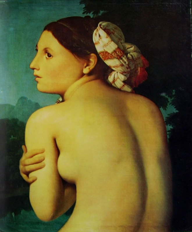 Jean-Auguste-Dominique Ingres: Nudo femminile di schiena