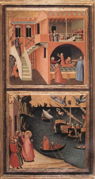 Ambrogio Lorenzetti: Miracoli di San Nicola da Bari 1