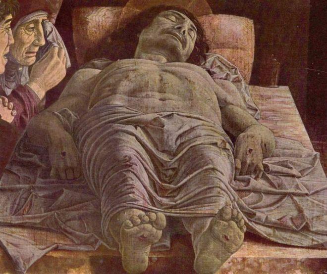 Mantegna: Cristo morto