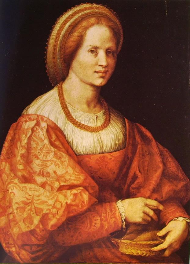 Pontormo - Dama con cestello