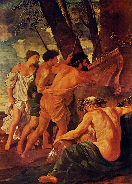 Nicolas Poussin: I pastori dell'Arcadia