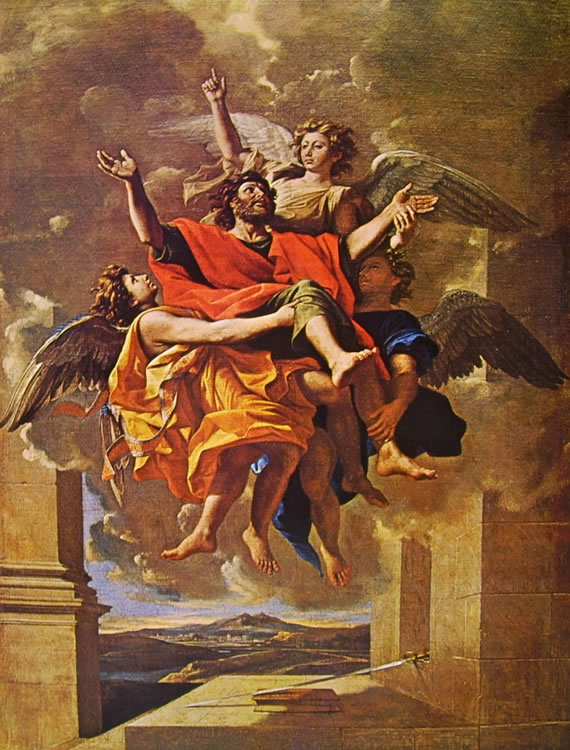 Nicolas Poussin: L'estasi di San Paolo