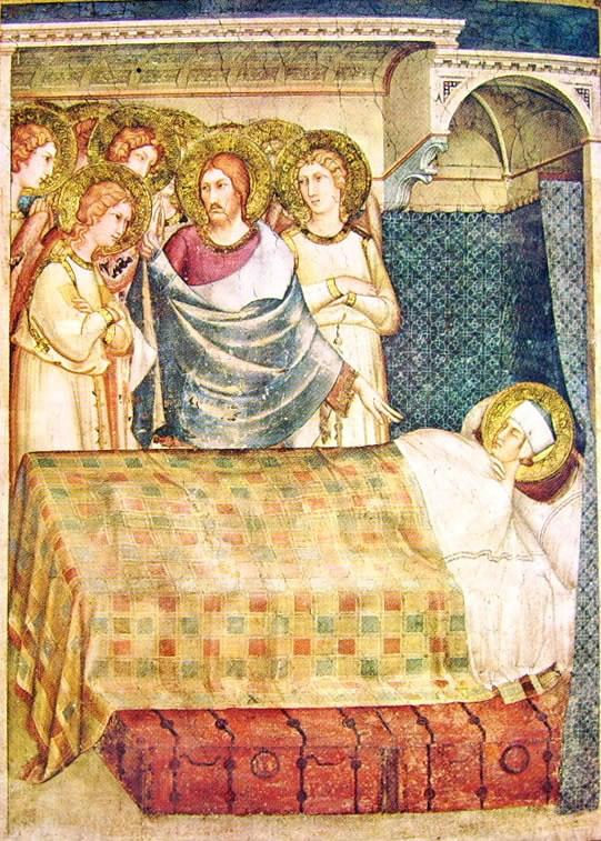 Simone Martini - Storie di San Martino - Il sogno