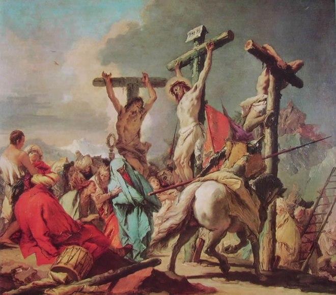 Il Tiepolo: La crocifissione
