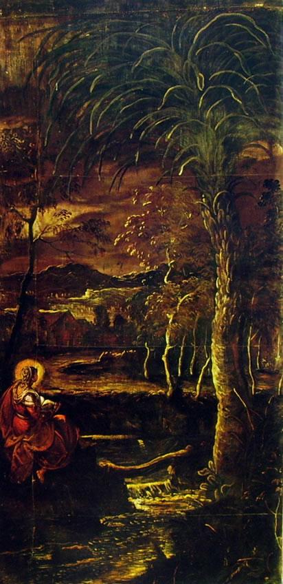Tintoretto - Santa Maria Egiziaca in meditazione