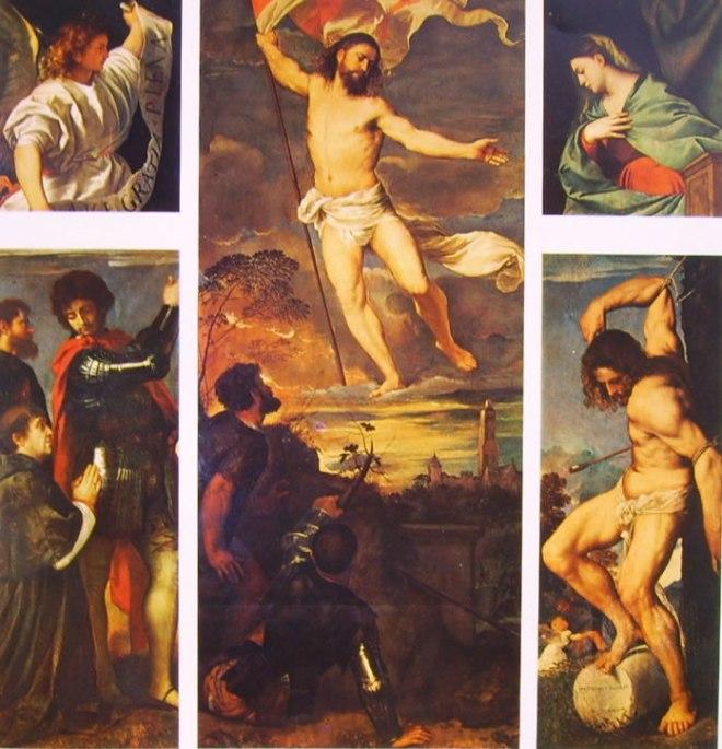 Tiziano: Polittico Averoldi