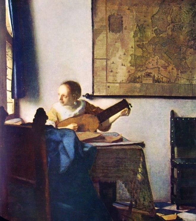 Jan Vermeer: Suonatrice di liuto
