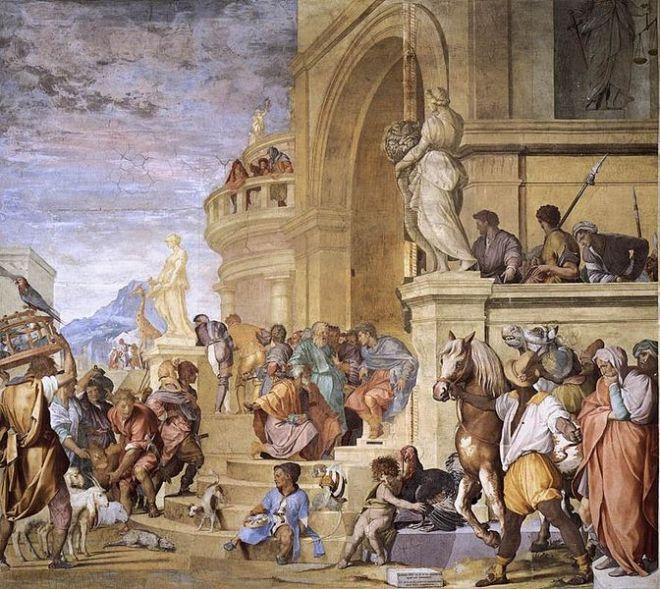 Andrea del Sarto: Tributo a Cesare