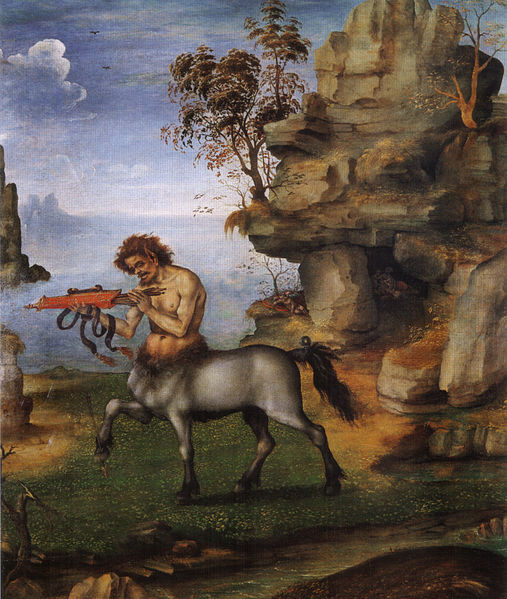 Filippino Lippi: Centauro ferito