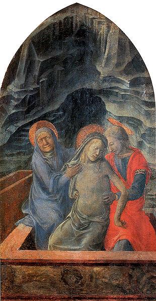 Filippo Lippi: Pietà