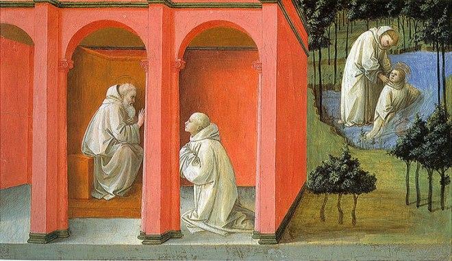 San Benedetto ordina a san Mauro di resuscitare san Placido