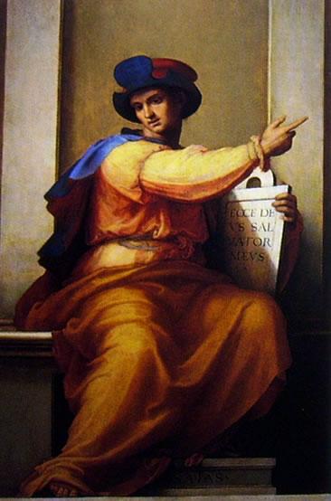 Fra' Bartolomeo: Profeta Isaia