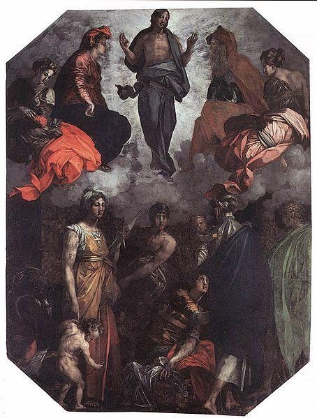 Rosso Fiorentino: Cristo risorto in gloria