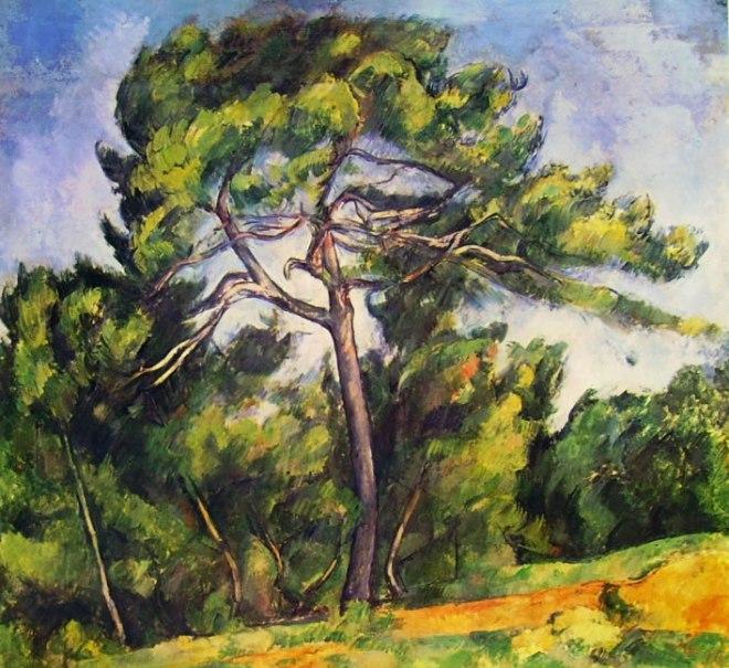 Paul Cezanne: Il grande pino