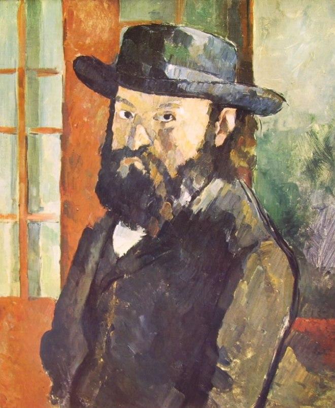 Paul Cezanne: Autoritratto con cappello