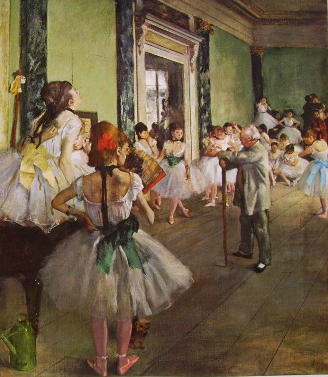 Edgar Degas: Lezione di danza