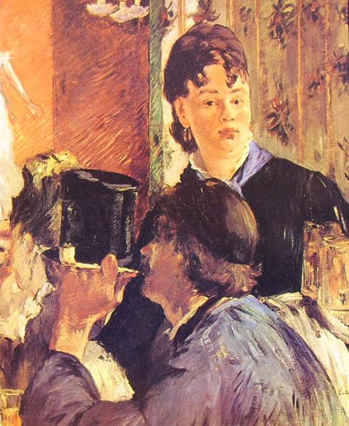 Edouard Manet: La cameriera della birreria