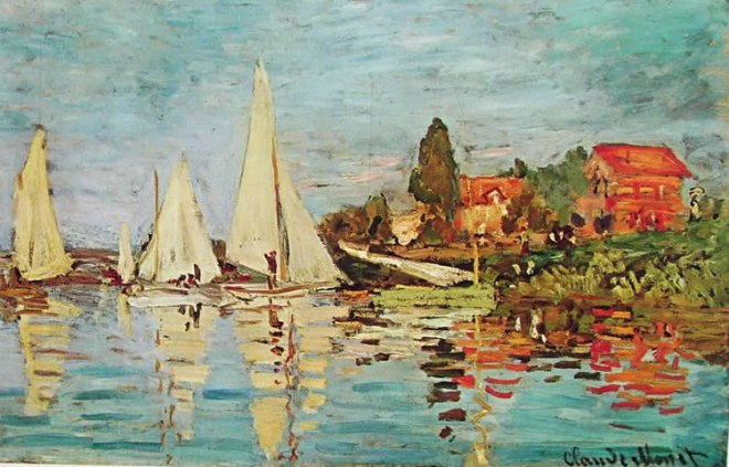 Claude Monet: Regate ad Argenteuil