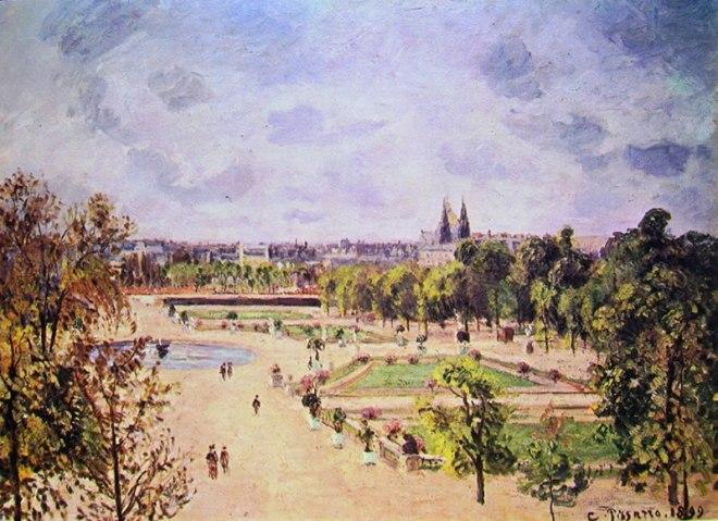 "Camille Pissarro: Il ""Jardin de Tuileries"""