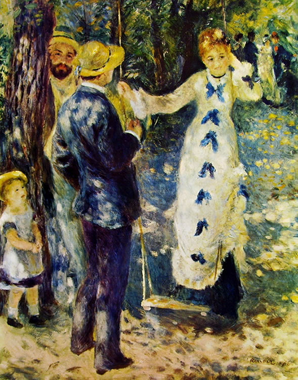 L'altalena, 92 x 73, Parigi, Museo d'Orsay