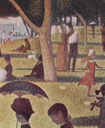 25 Georges Seurat - Particolare della grande jatte