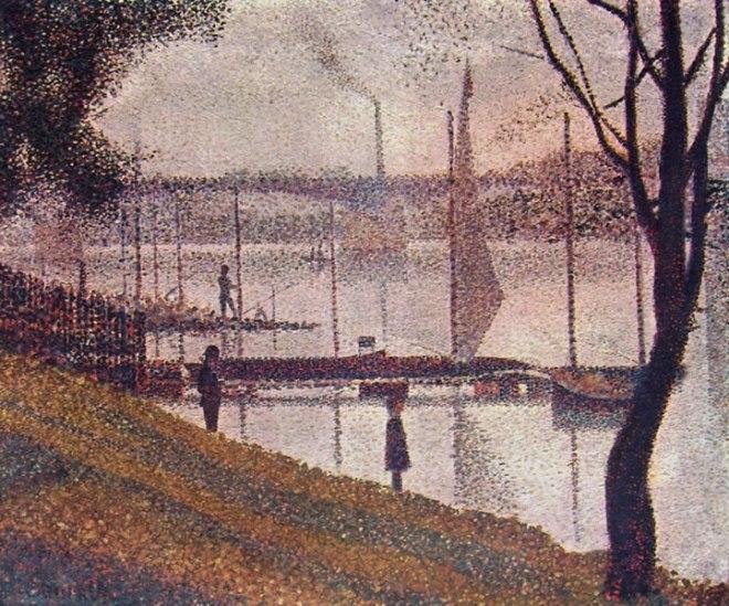Georges-Pierre Seurat: Il ponte di Courbevoie