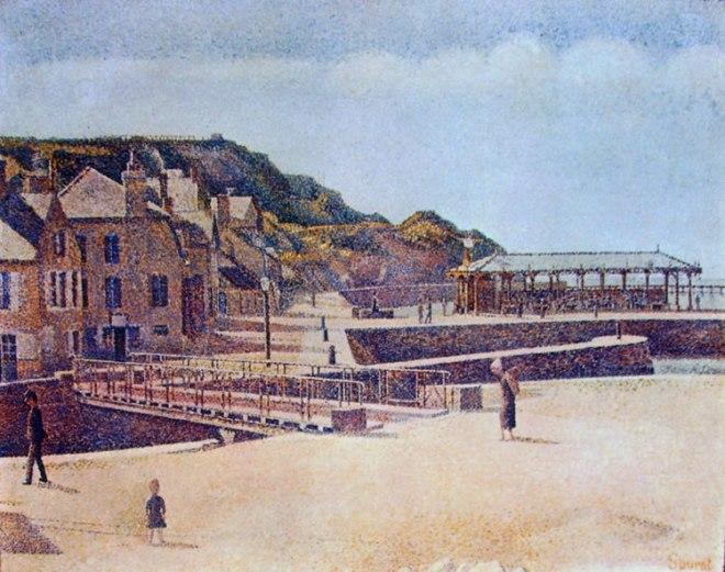 Georges-Pierre Seurat: Il ponte di Port-en-Bessin