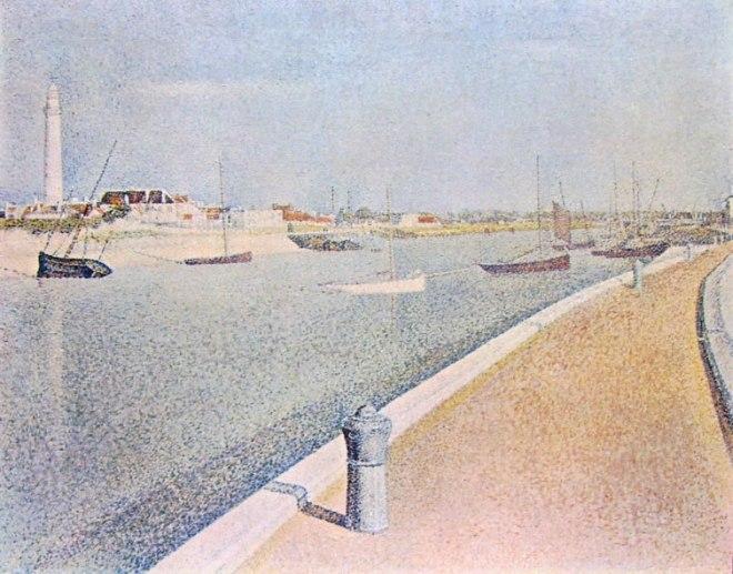 Georges-Pierre Seurat: Il petit fort Philippe a Gravelines