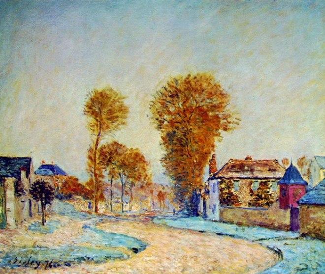 Alfred Sisley: Prima brinata