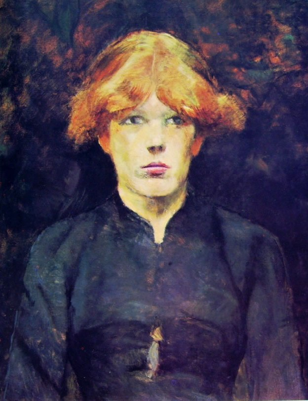 Toulouse-Lautrec: Carmen di fronte