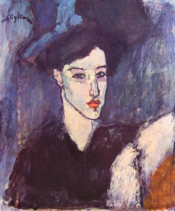 Amedeo Modigliani: L'Ebrea