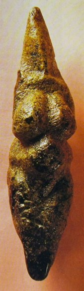 Venere di Savignano, Roccia serpentinosa del XVIII-VIII millennio a.C., Modena
