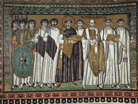 Imperatore Giustiniano (San Vitale, Ravenna)